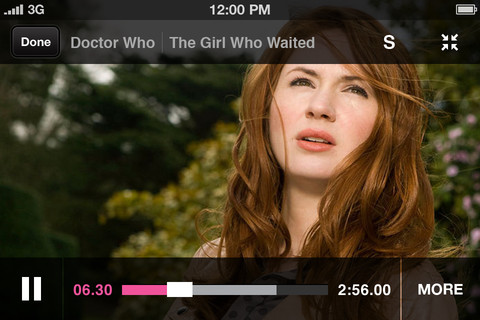 BBC Dr. Who Screen