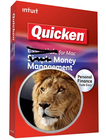 Quicken Coming to Lion