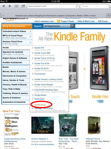 Kindle store -1