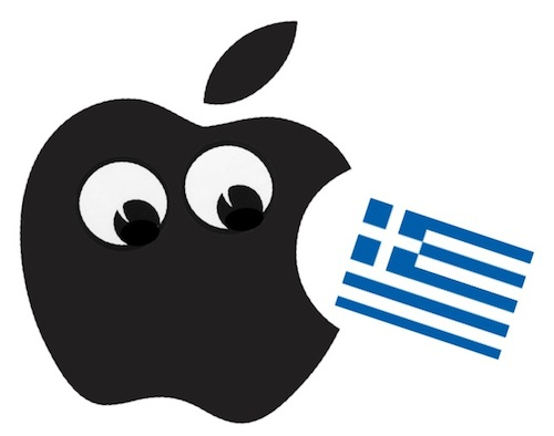 Apple Market Cap Larger than Greece GDP