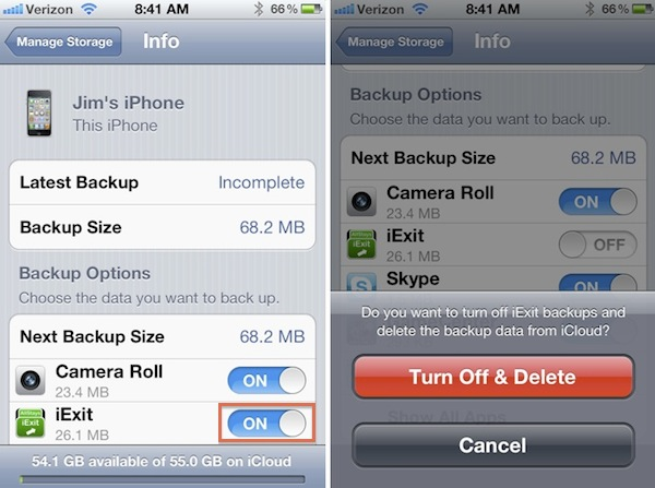 how to get data off of icloud