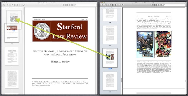 Use Preview to Combine PDFs Drag and Drop
