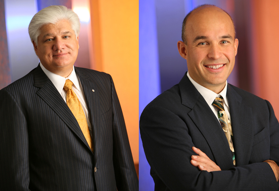 RIM CEOs Balsillie and Lazaridis