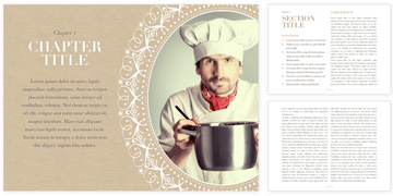 Jumsoft's Cookbook template for iBooks Author