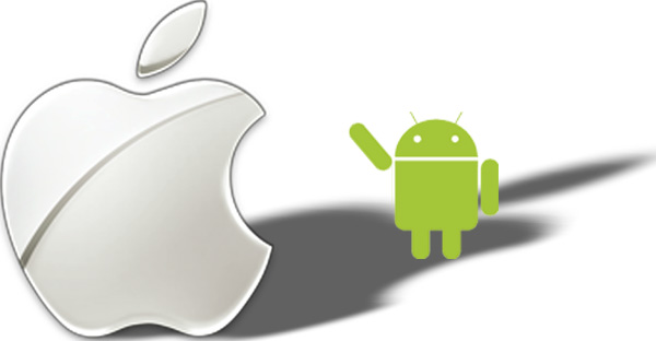 Android, in Apple's Shadow