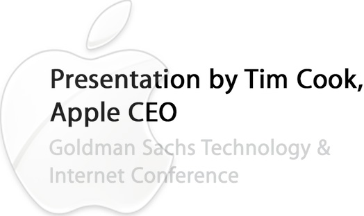 Tim Cook Audio