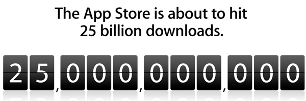 25 Billion App Store Downloads