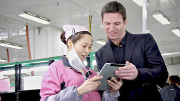 Nightline's Bill Weir on the iPad production line