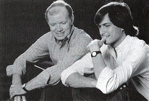 Regis McKenna with Steve Jobs