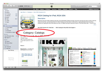 Apple's new Catalogs App Store category