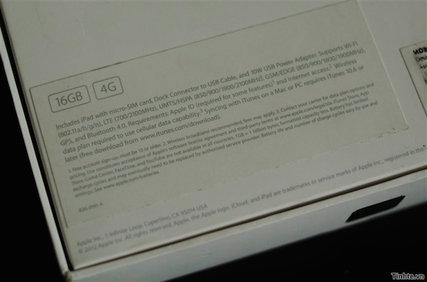 New iPad 4G Unboxing