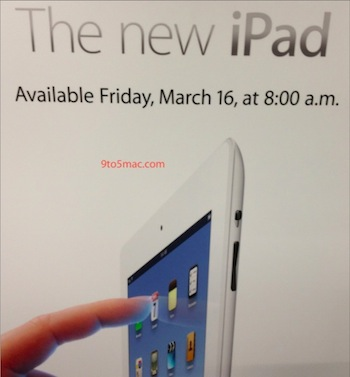iPad Launch Sign