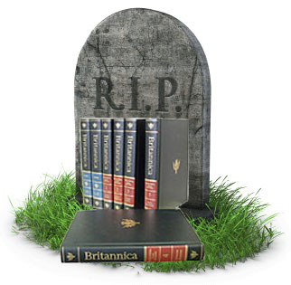 RIP Encyclopedia Britannica