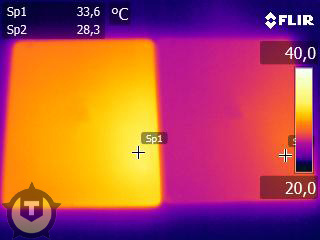 iPad Infrared Hotter