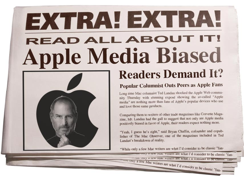 newspaper articles and bias