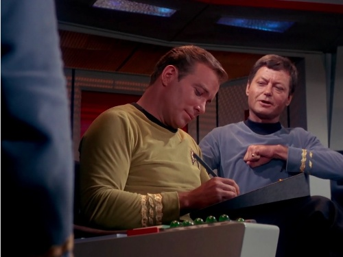 Captain James T. Kirk's tablet