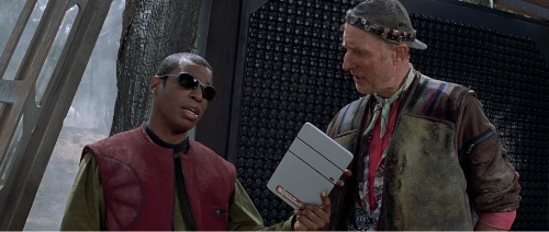 Geordi la Forge's tablet
