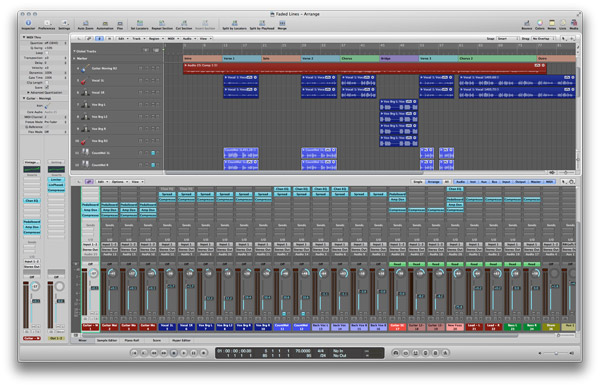 Logic Pro Screenshot