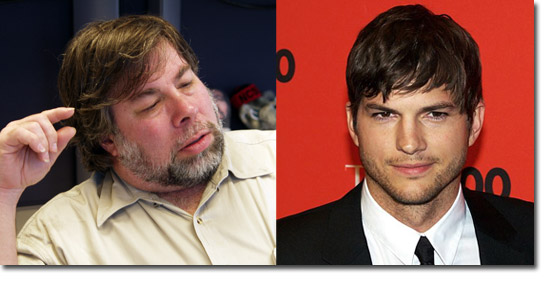 The Woz & Ashton Kutcher