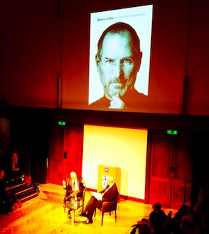 Walter Isaacson Discussing Steve Jobs