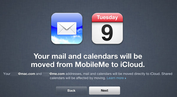 Moving to iCloud