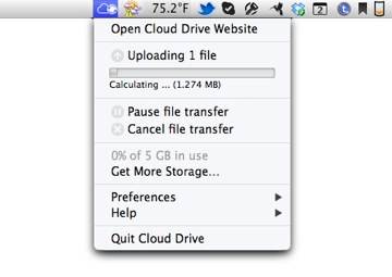 Amazon gives Mac users a Cloud Drive app