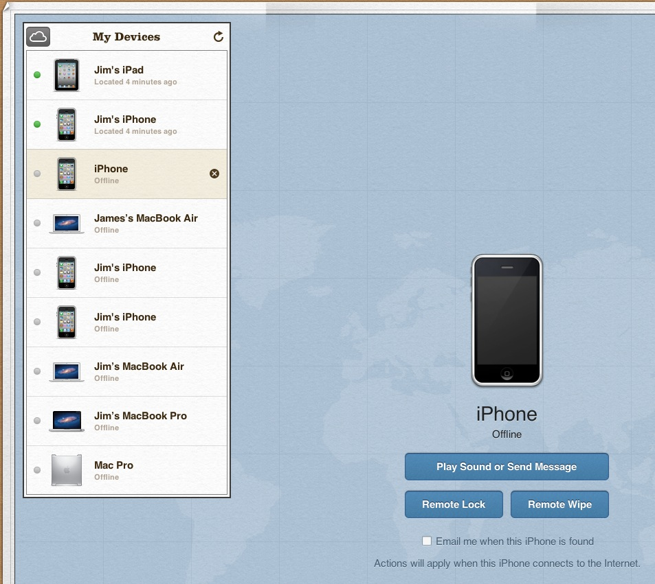 "How to Remove & Clean Up ""Find My iPhone"" Devices – The Mac Observer"