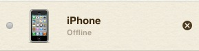 Find My iPhone Device Removal