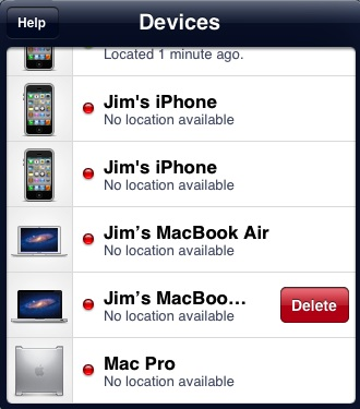 Remove Device Find My Iphone App