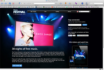 Apple's iTunes Festival in London Kicks off in September