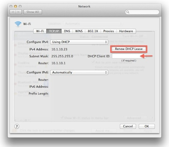 Mac OS X Wi-Fi Troubleshooting