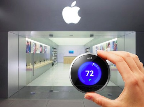 Nest Sold at Apple Stores