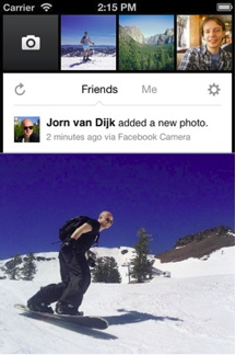 Facebook gets deeper into photo sharing with Facebook Camera