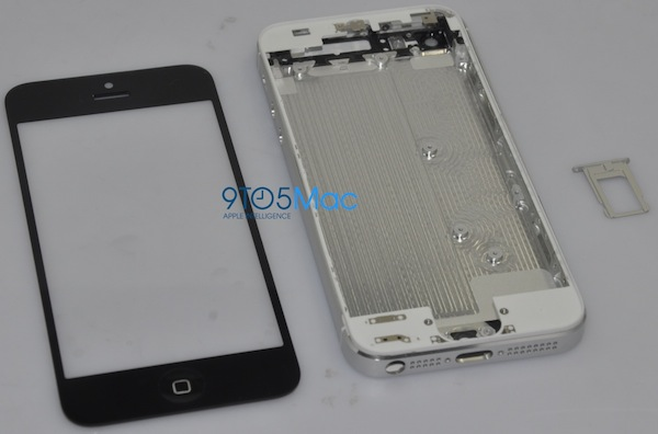 Leaked iPhone 5 Front and Back