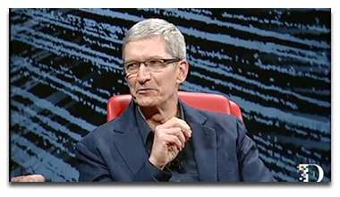 Tim Cook talks about Siri at AllThingsD D10 Conference