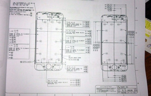 Leaked Next Gen iPhone Blueprint