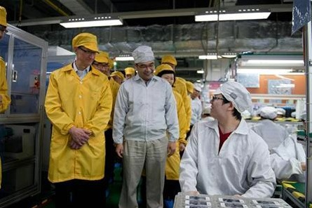 Tim Cook Foxconn Working Conditions