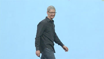 Tim Cook at WWDC 2012