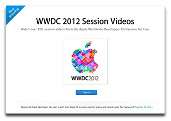 WWDC 2012 session videos now online