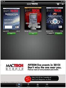 MacTech Magazine on the iPad