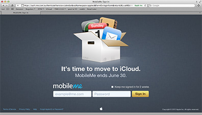 MobileMe: It's time to move