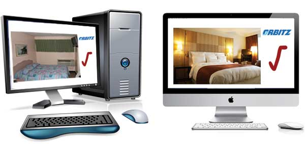 Mac & PC Users Book Different Rooms on Orbitz