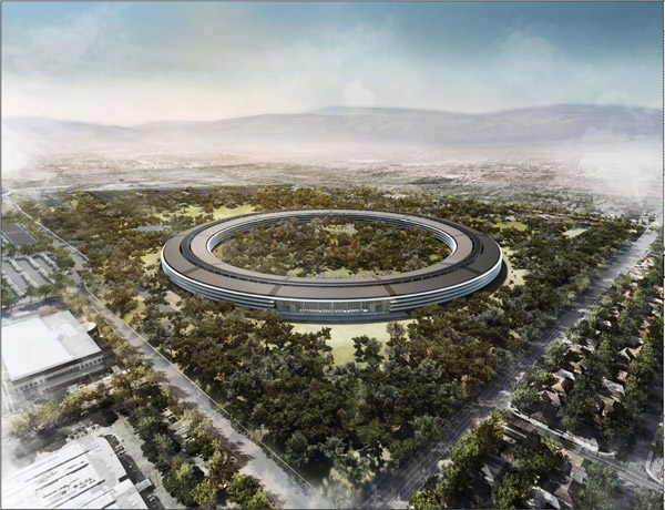 Apple Spaceshp HQ Rendering