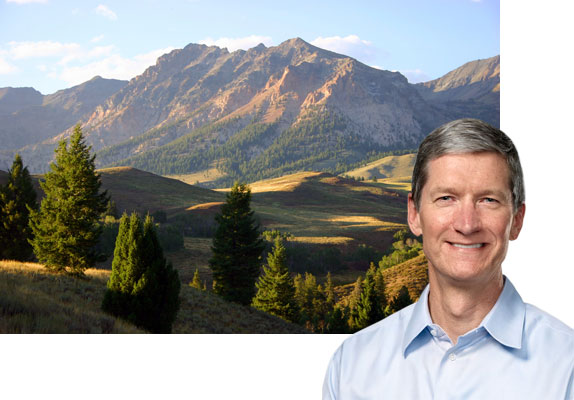 Tim Cook at Sun Valley