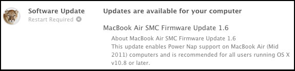 Apple Firmware Update MAS Listing
