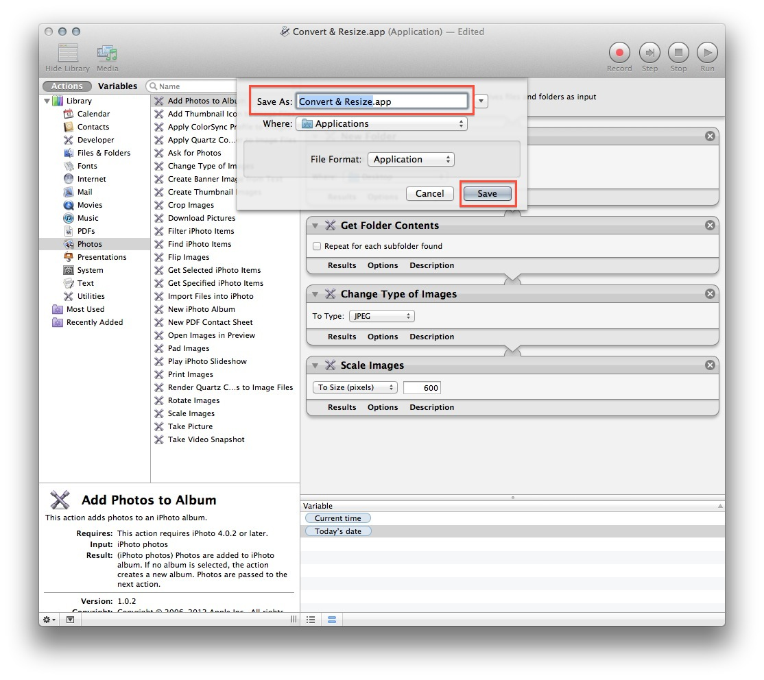 How to Batch Convert and Resize Images With Automator – The