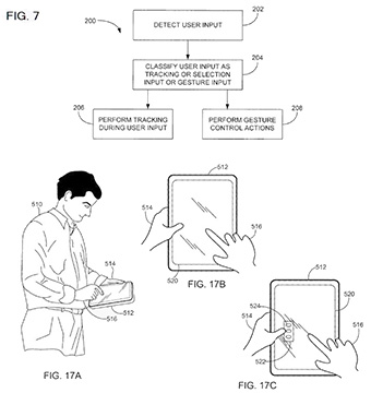 Apple scores new multi-touch patent