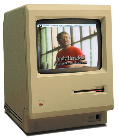 Andy Hertzfeld & the Original Mac 128K