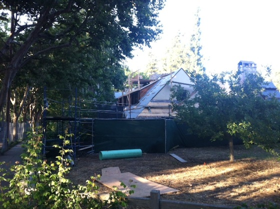 Steve Jobs Home Burglarized Renovations