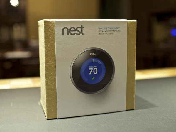 Nest Learning Thermostat Box